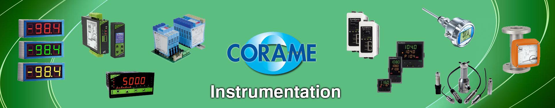 Produits Instrumentation sélectionnés par Corame