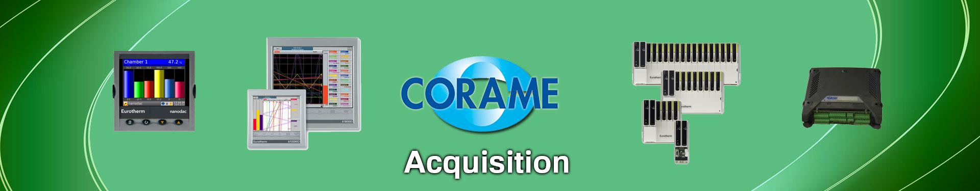 Produits Acquisition de données sélectionnés par Corame