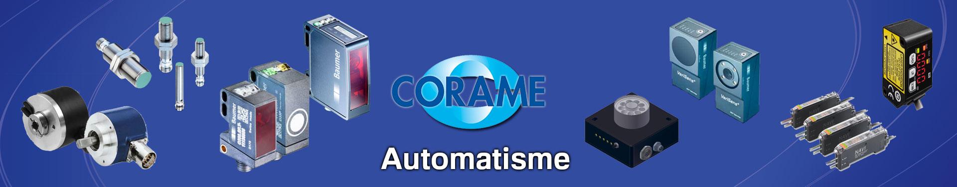 Produits Automatisme sélectionnés par Corame