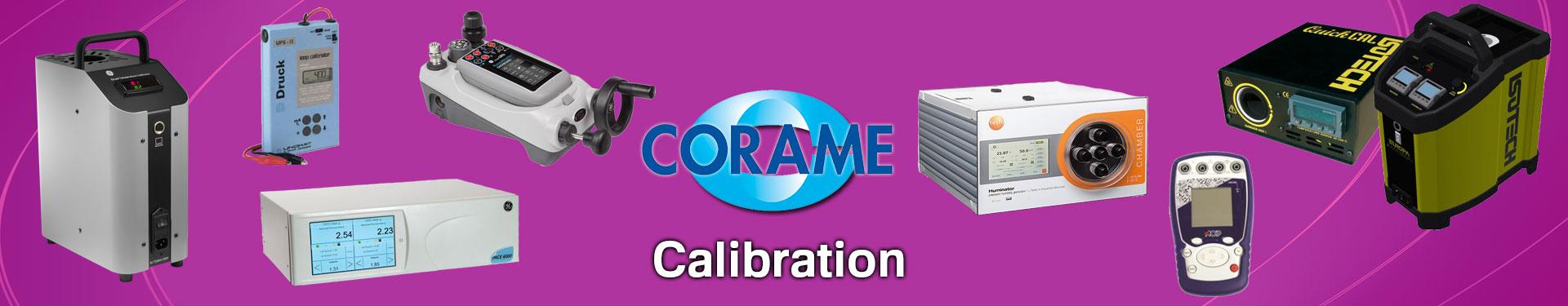 Produits Calibration sélectionnés par Corame