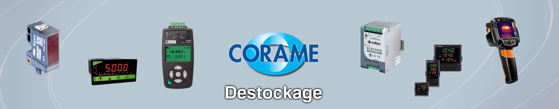 Produits Destockage sélectionnés par Corame