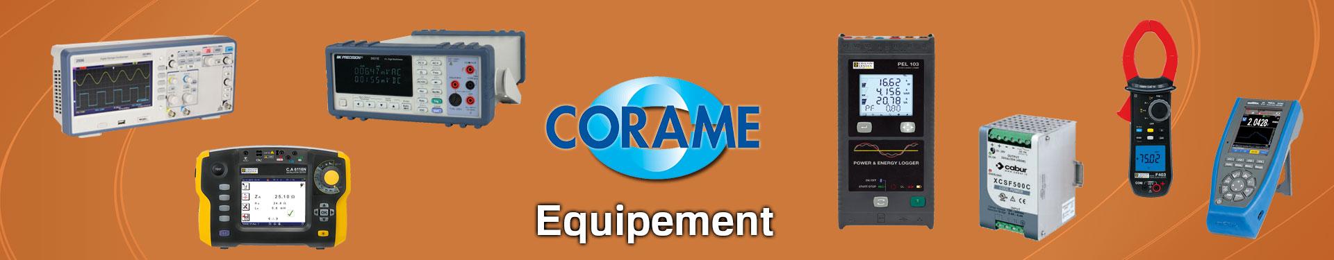 Produits Equipement sélectionnés par Corame