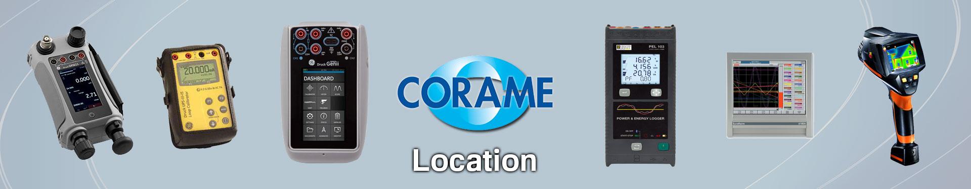 Produits Location sélectionnés par Corame