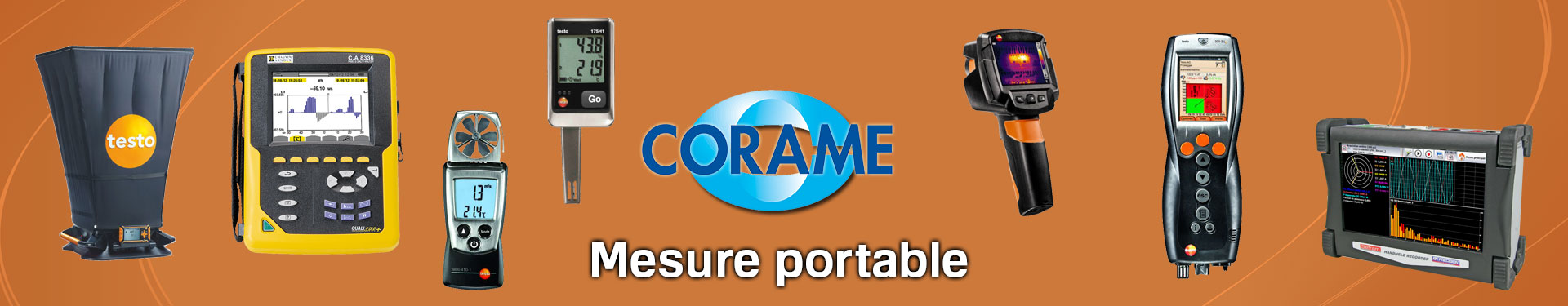 Produits Mesure Portable sélectionnés par Corame